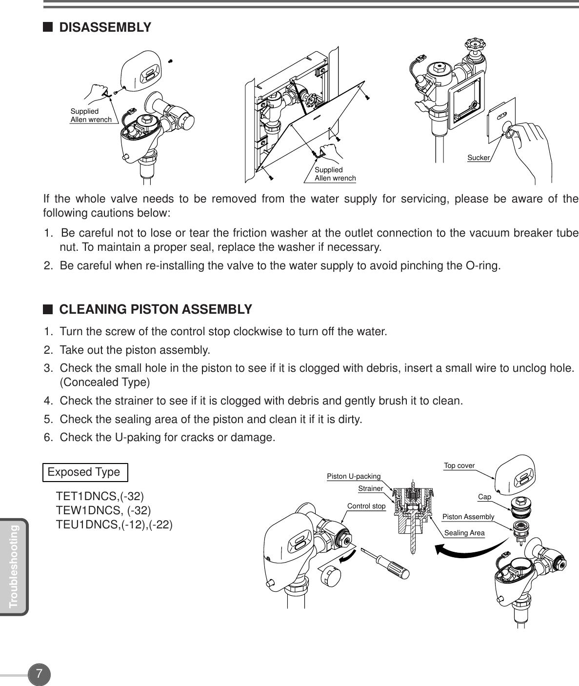 03664R Automatic Flush Valve OM EN