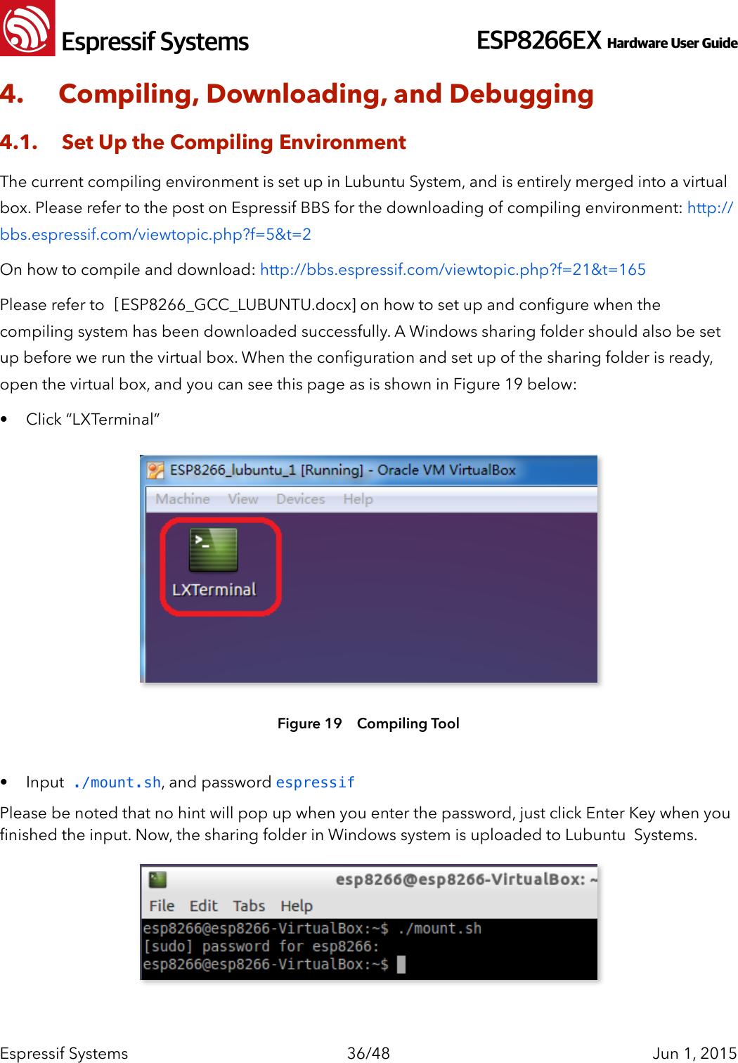 0B ESP8266__Hardware_User_Guide__EN_v1 1 pages ESP8266 Hardware User