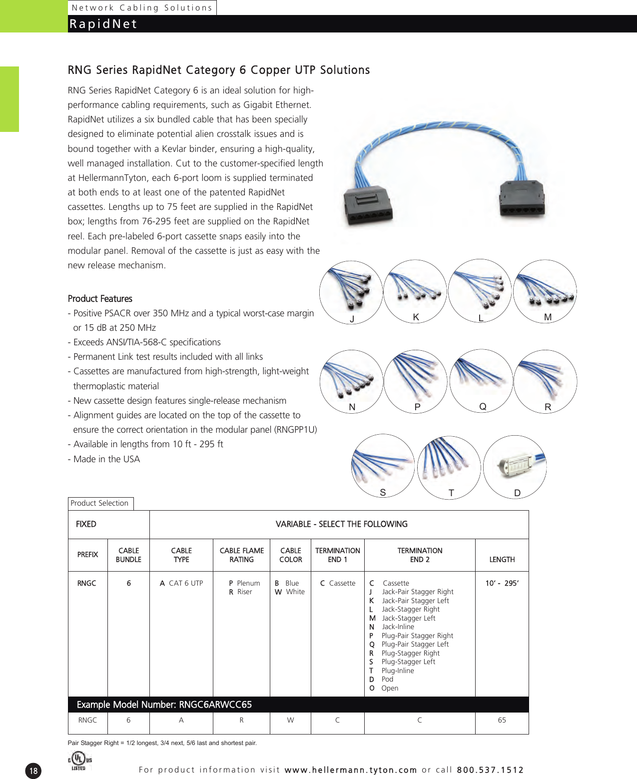 PCYEL10 Pack of 10 CABLE MOD 8P8C PLUG-PLUG 10