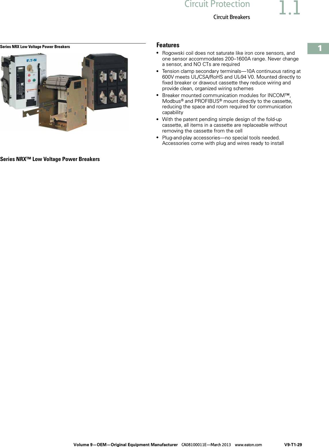CUTLER HAMMER QCF1015 U 15A 120V 1P 10K USED