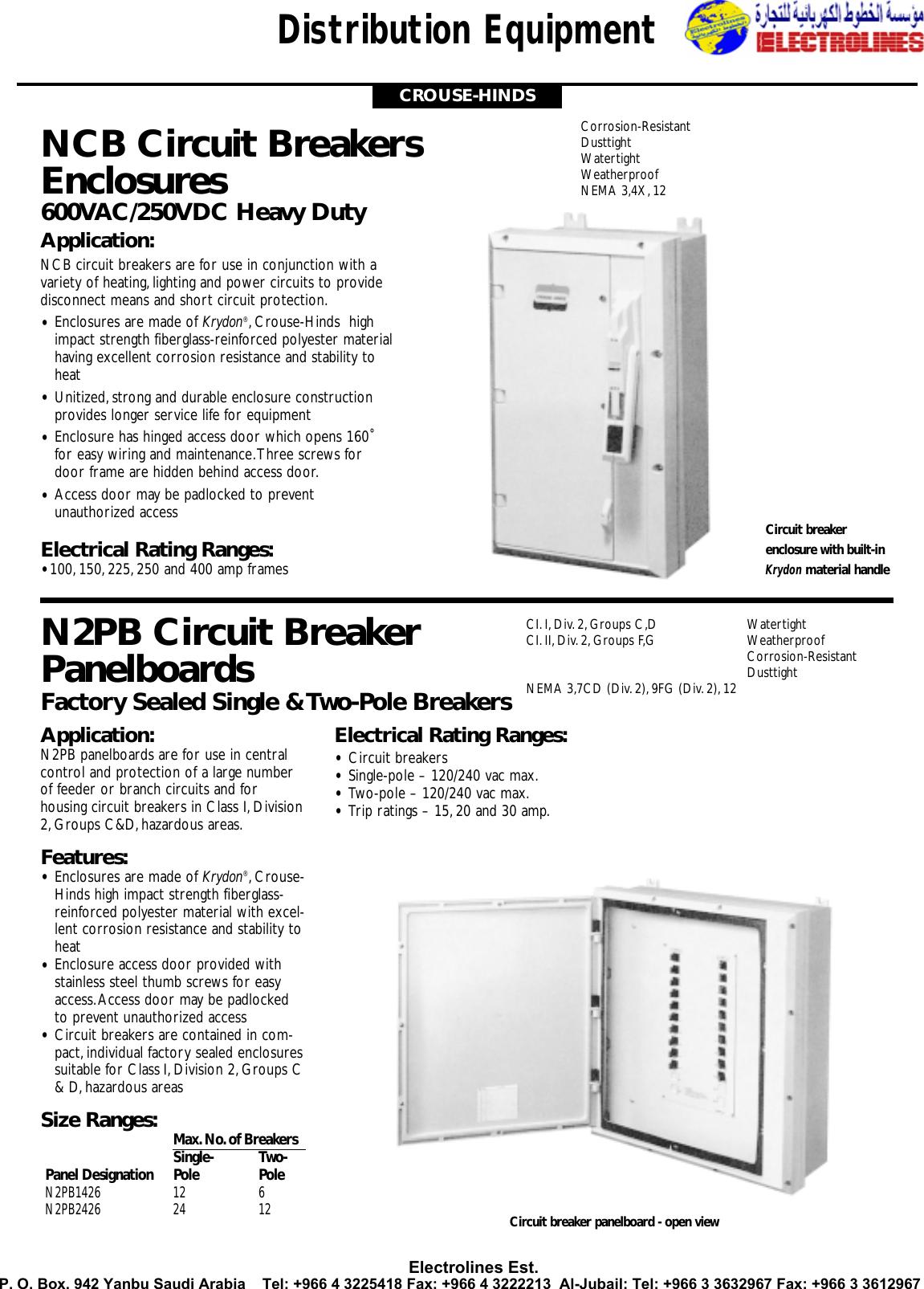 GE GENERAL ELECTRIC TED124060WL NEW CIRCUIT BREAKER 2 POLE  60 AMP 240//480Y VAC