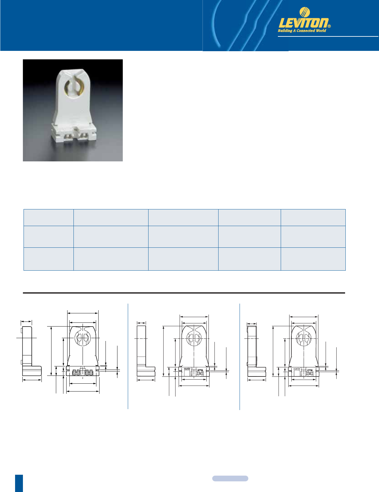 Brochure Leviton Nom 057 Switch Wiring Diagram Linear Fluorescent