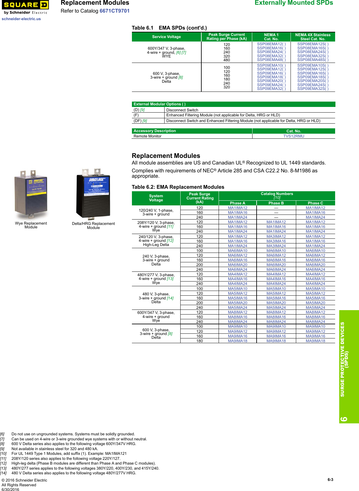 Digest 177 Section 6 Surge Protective Devices Brochure Protection Device Wiring Diagram Page 3 Of 10