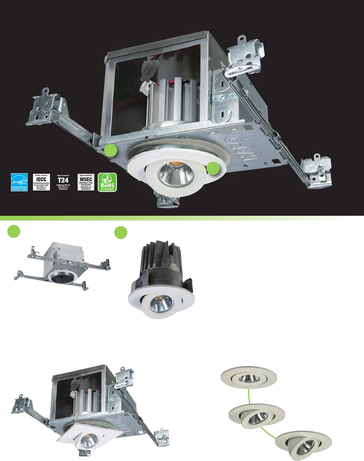 HALO Recessed HALO Recessed EL406935 4-Inch 3500K LED Light Engine EATON
