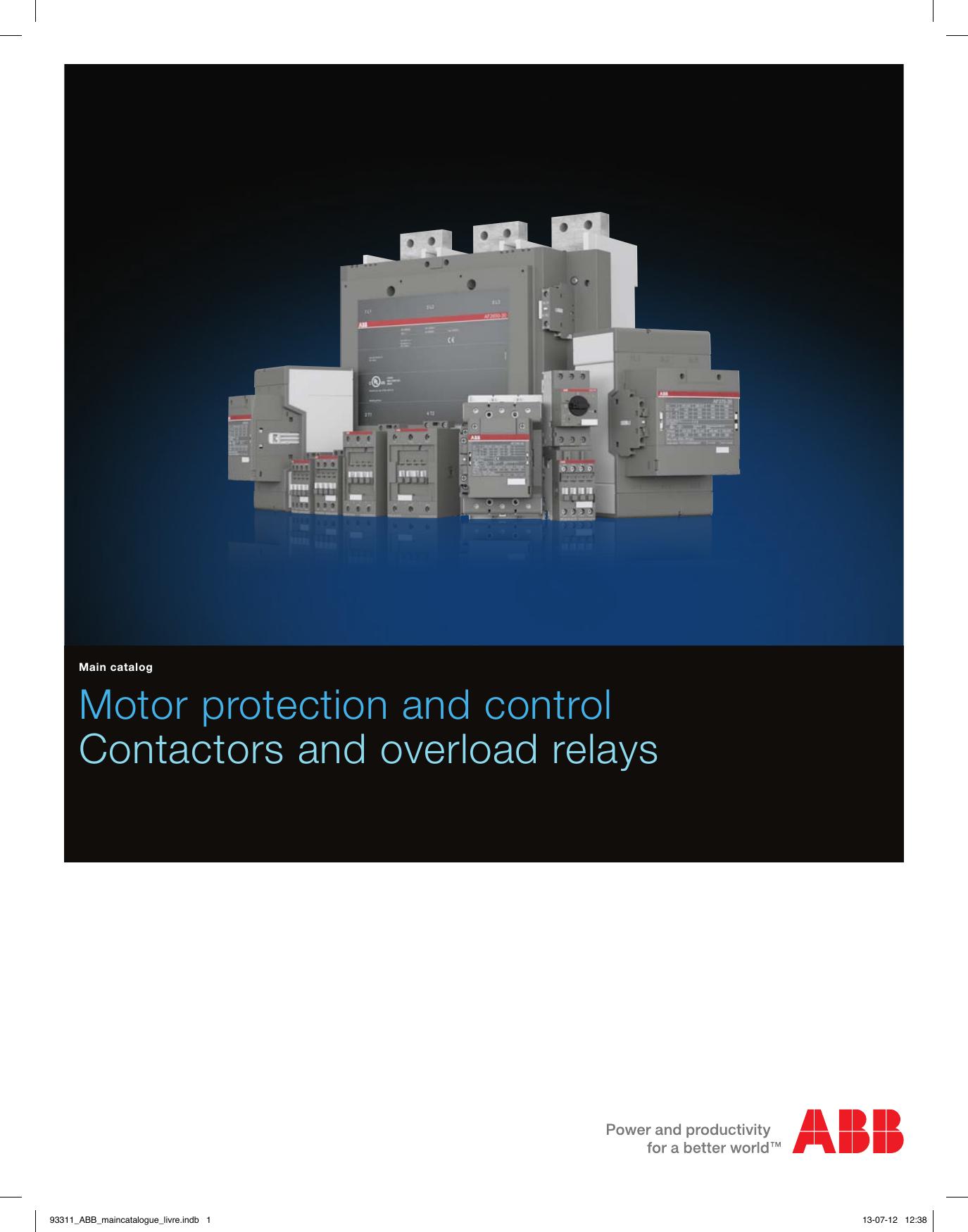 1000388604 Catalog Contactors Controlling Astardelta Motor
