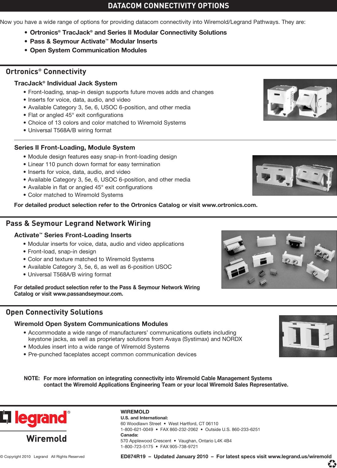 page 12 of 12 - 2400 & 2400d series raceway cut sheet brochure