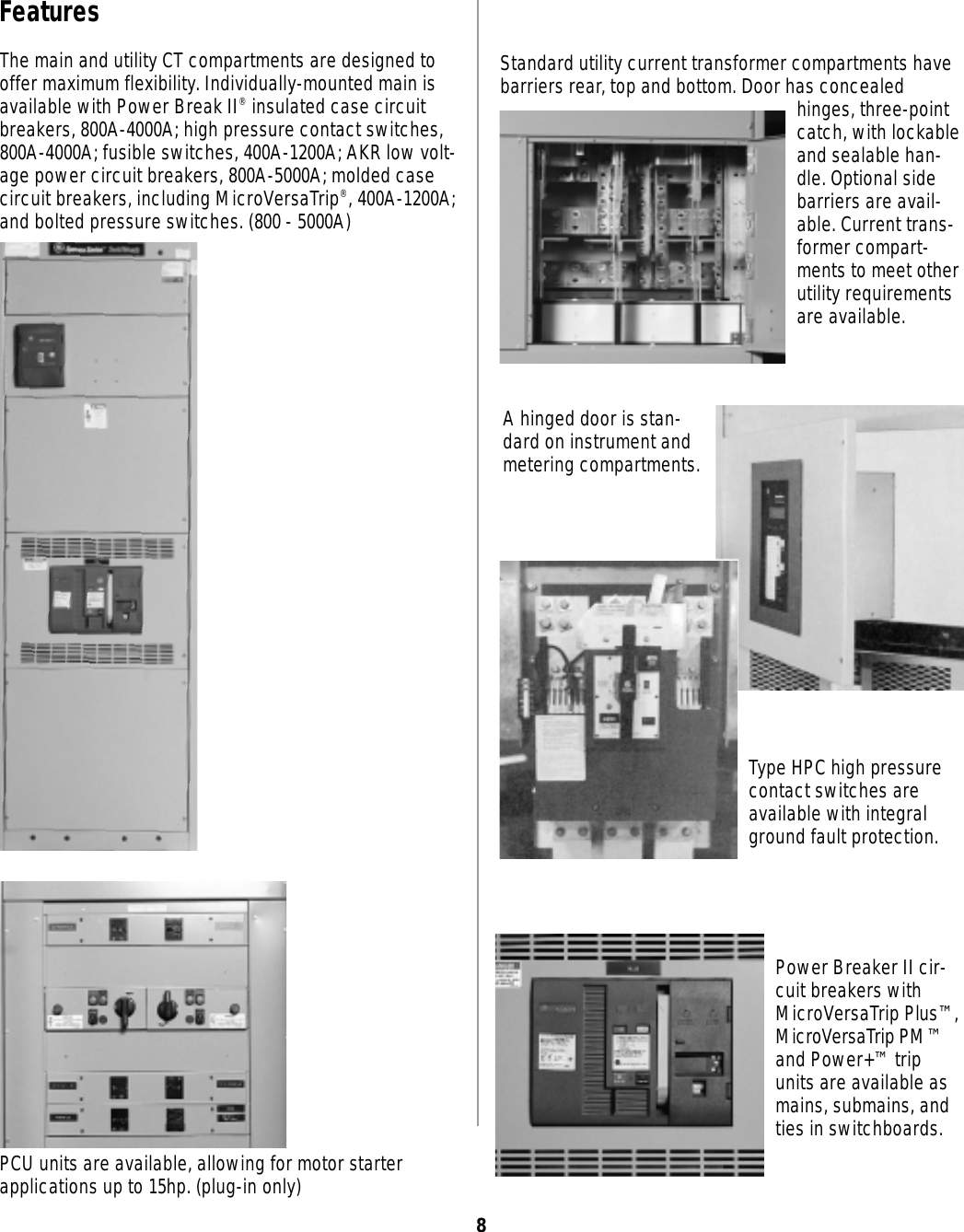 Local Control Knob Switches Highamp Circuits For Emergency Shutdown