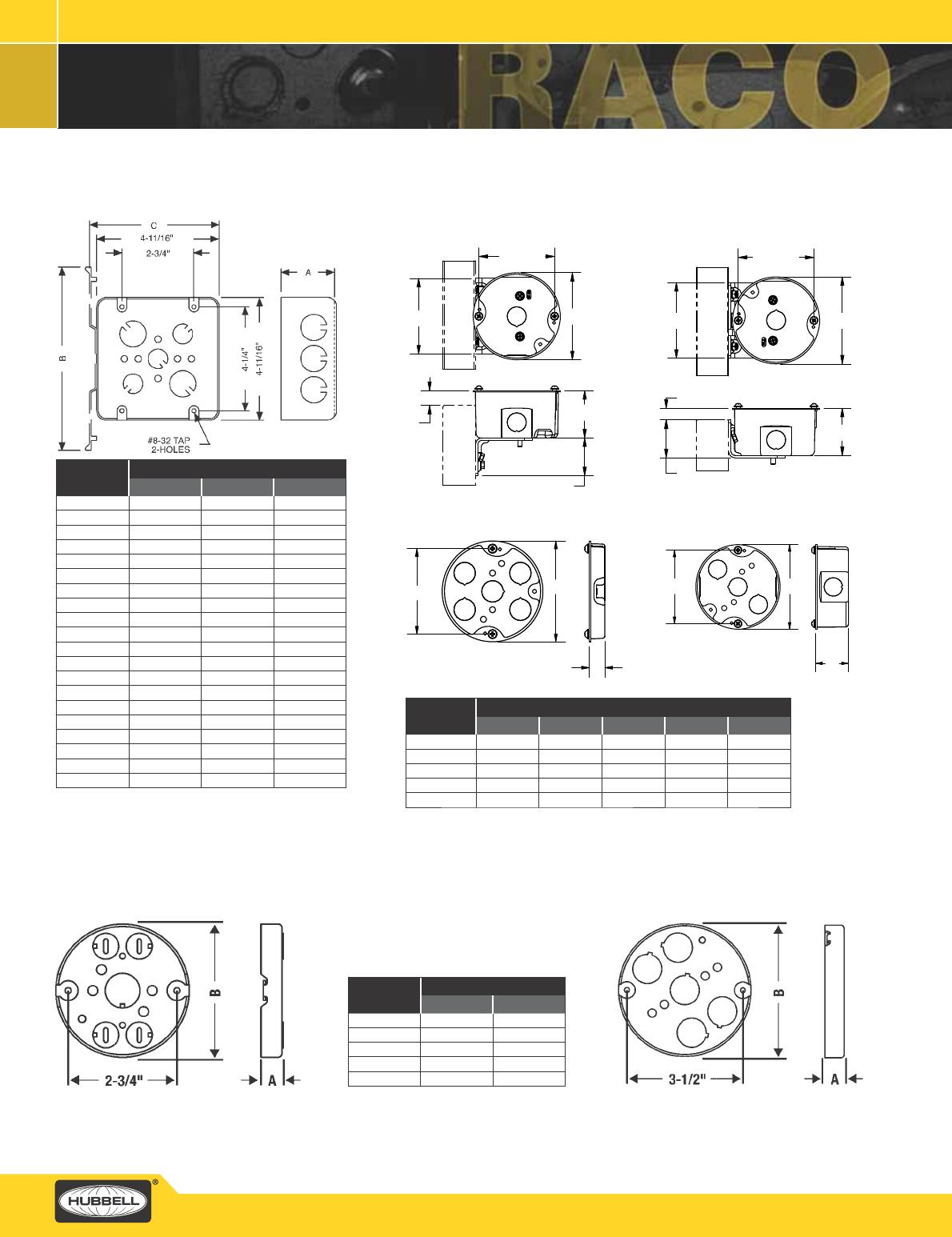 "UMI 21.0 Cu In 4/"" Square 1-1//2/"" Deep Welded Steel Electrical Junction J-Box"