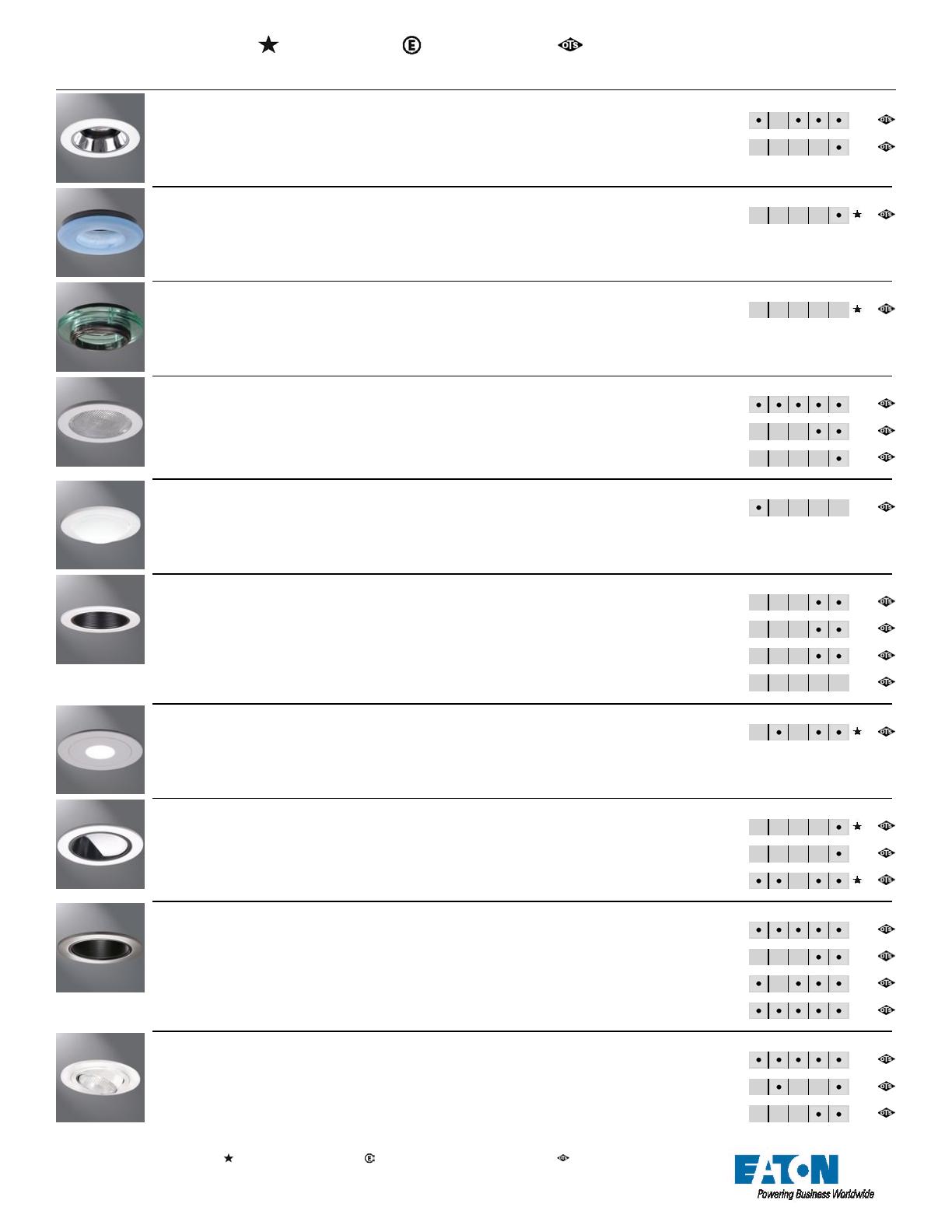 LED Lamp 3500K Cooper ERM6A20835 Power Module 80 CRI 120-277v 2000 lumens
