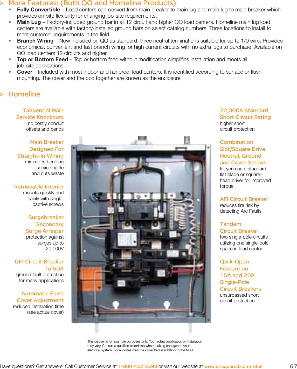 Square D Circuit Breaker Wiring Diagram