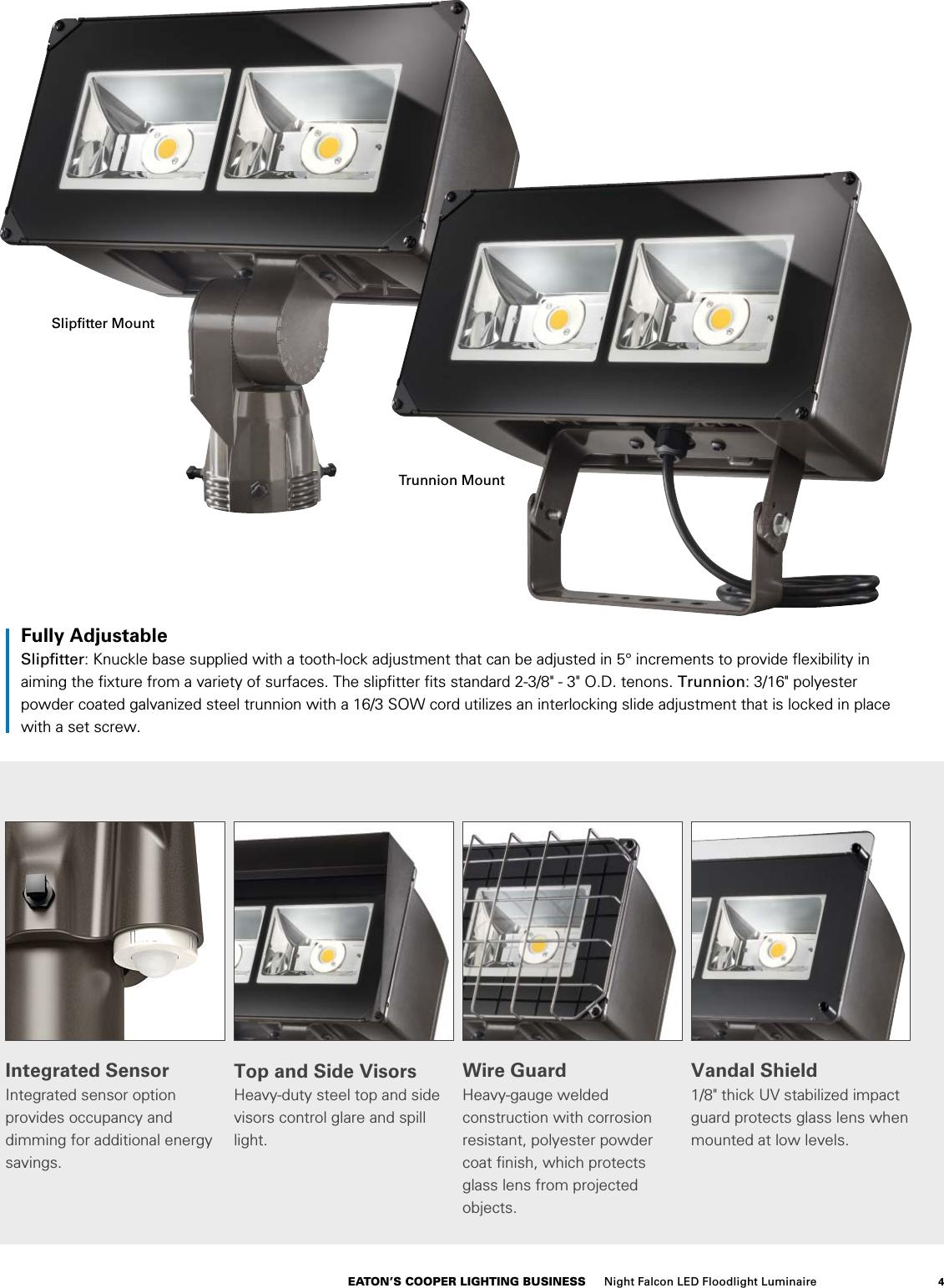 Lumark Night Falcon LED Floodlight Brochure 1000441946 Catalog