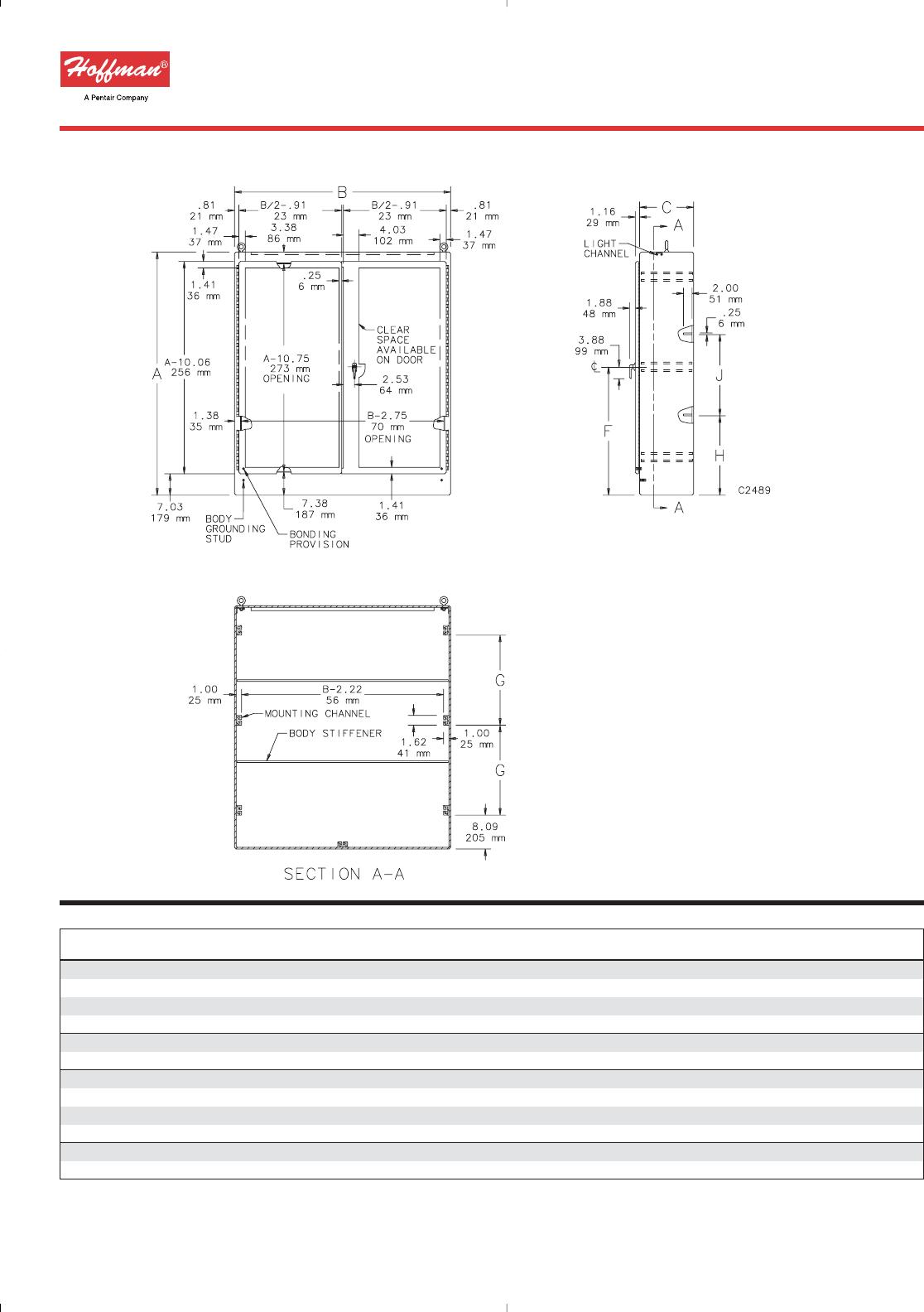Qline D Enclsosures QDMFK Enclosure Accessory Mounting Bracket Kit QDMFK Pack of 2