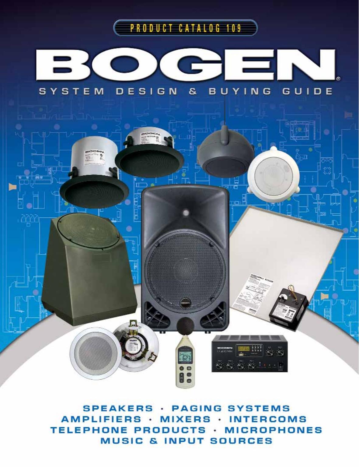BOGEN A8T 2-Way Speaker 70 volt 64//32//16 Watts fully sealed and waterproof.