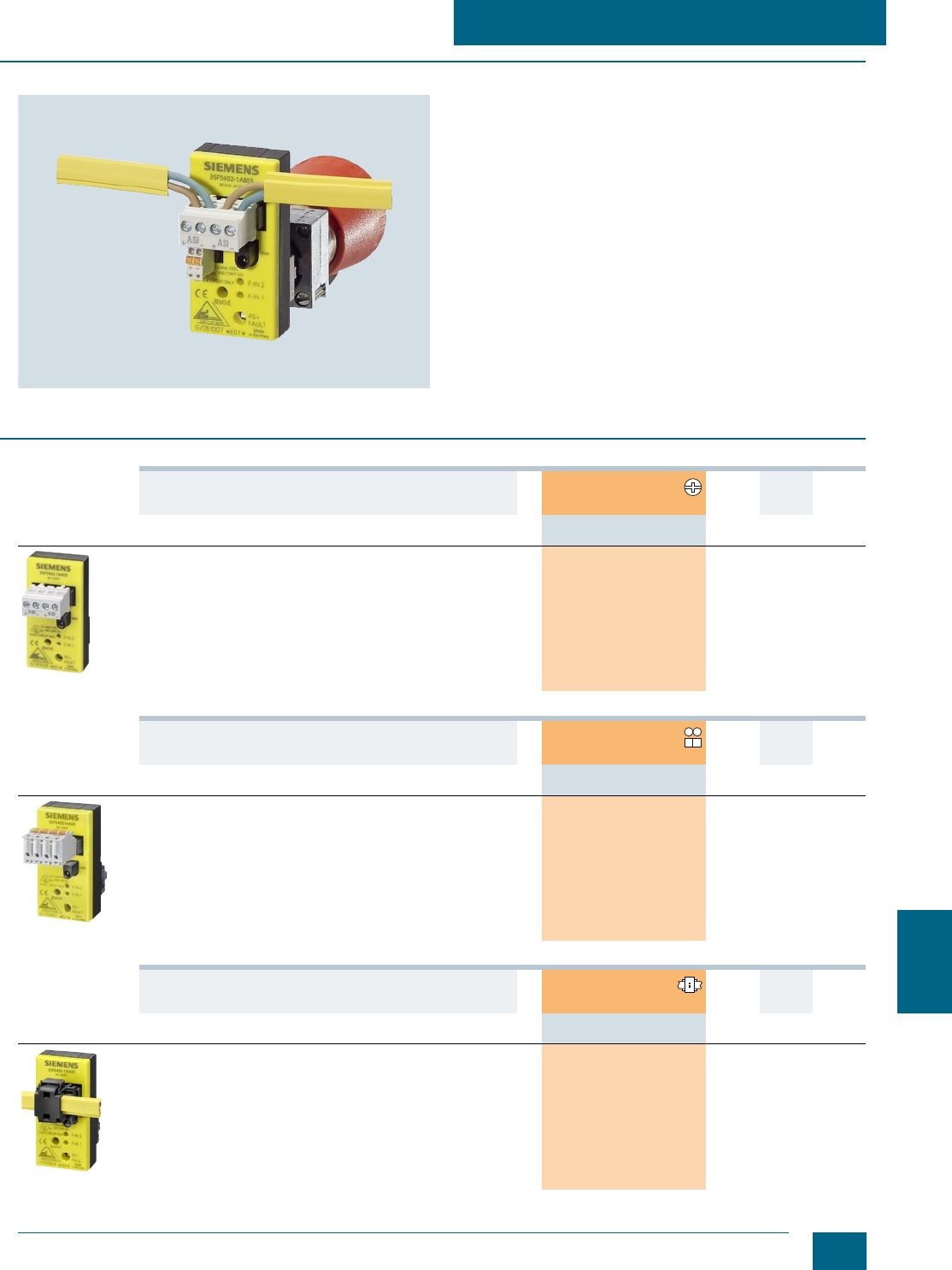 Screw Lens Concentric Rings Yellow Siemens 3SB20 01-6BD06 Indicator Light