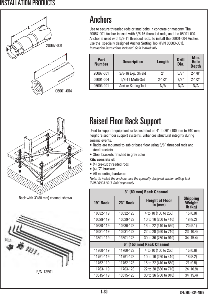 """G.R.I Duct E-Z58 6-6/' 5//8/"""" X 1//2/"""" Units w//Covers Rcwy White 6 Pack"""