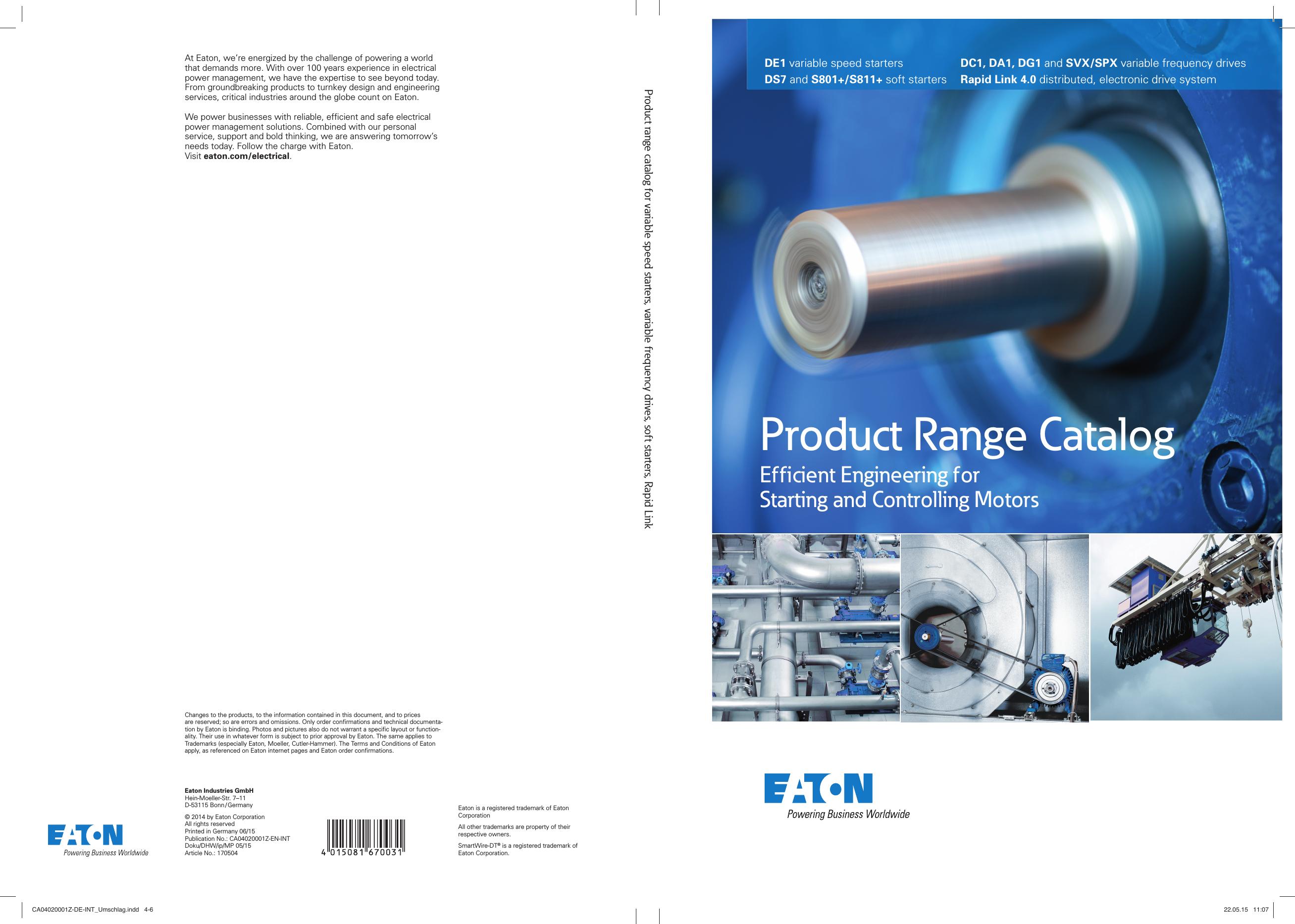 Product Range Catalog Ca04020001z En Int 1000491559 Manual Cableado Electrico Minimoto Chopper 49