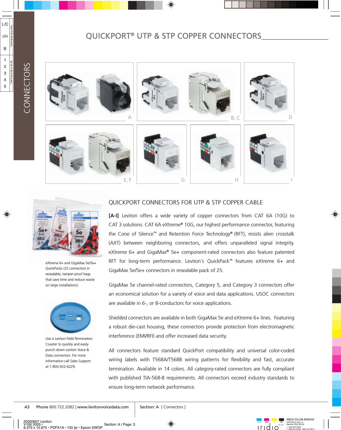 A 0607 Levdat B Brochure Eia Tia 568 Standard Pdf Page 3 Of 12