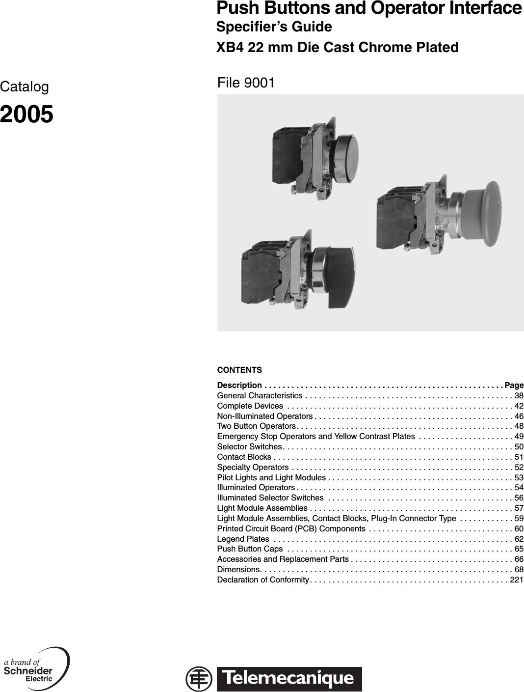 9001CT0001 1000508696 Catalog on