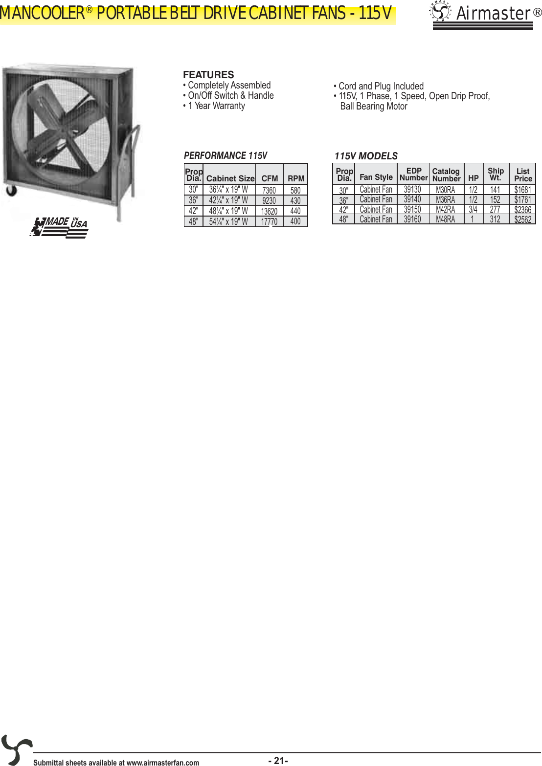 2008 Airmaster Catalog 101711 1