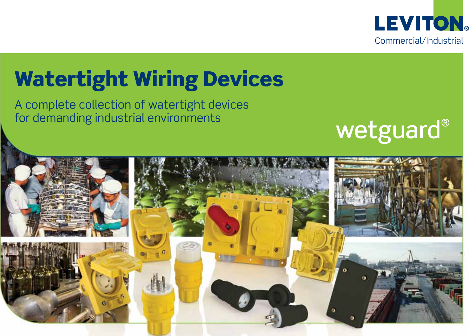 Leviton Watertight Wiring Devices 101721 Catalog Commercial And Industrial