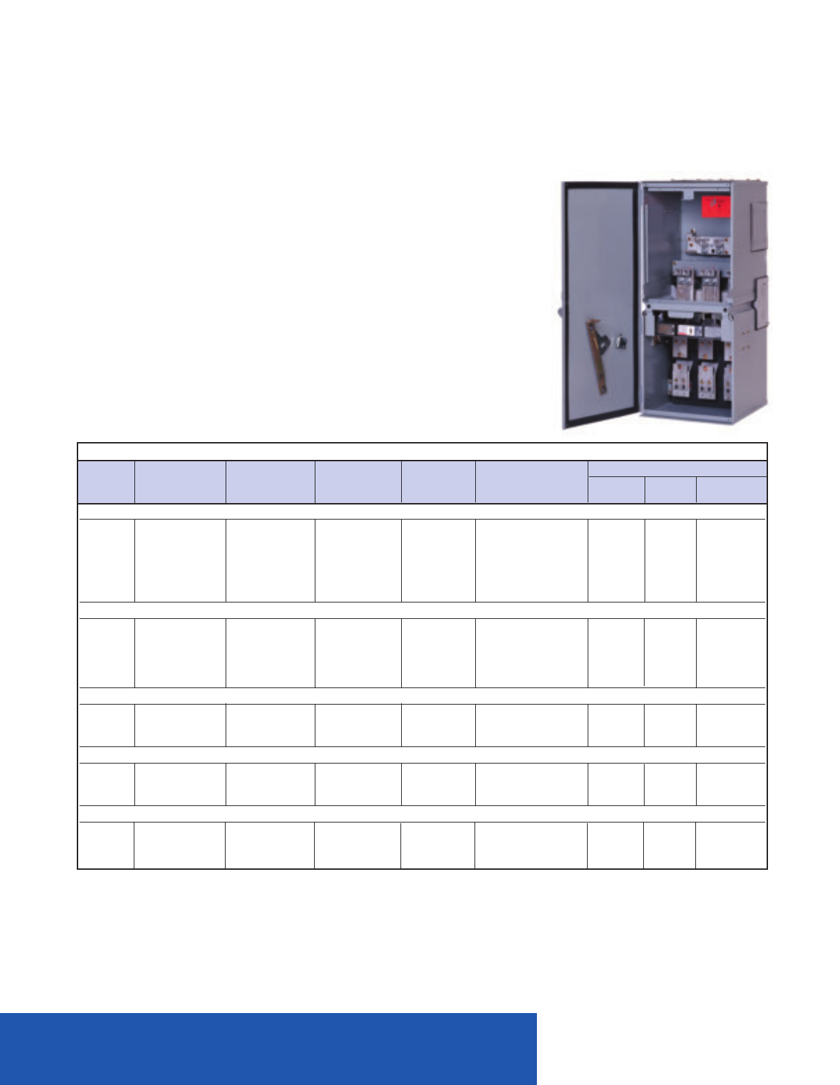 New Siemens Meter Main MM0406ML1200S 200A 3R Enclosure 120//240 V 1 phase