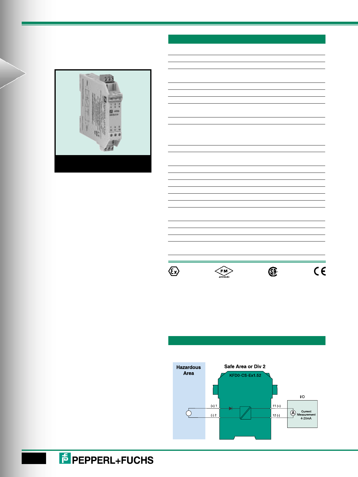Loop Powered Isolators Brochure 20ma To Hart Converter 4 On Wiring Diagram For 98