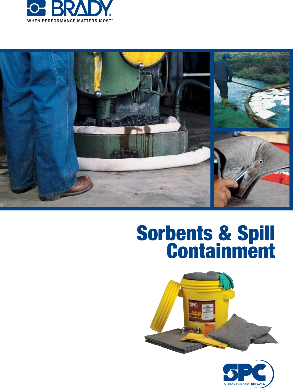 Oil Only Class SPC SPC810 10 Length 4 Per Bale 8 Width Sorbent Booms