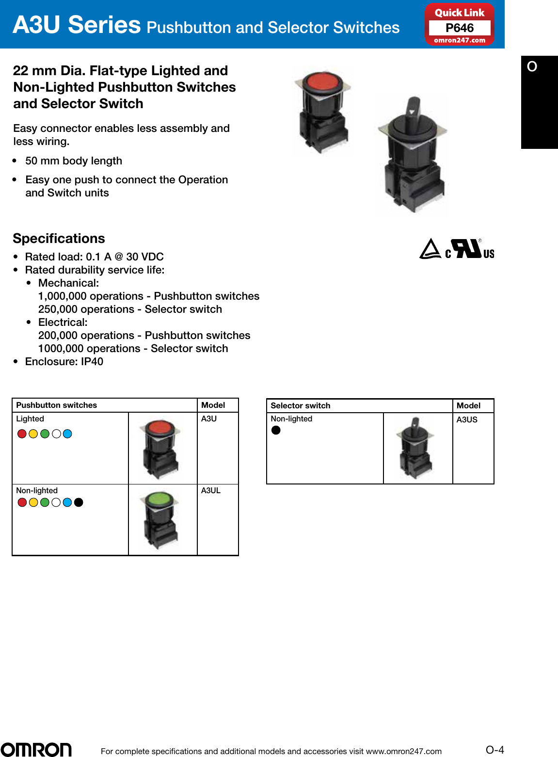 Omron Industrial Components Solution Selection Guide 2014 2015 ... on