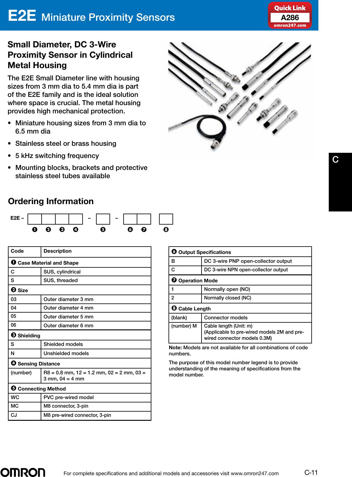 Nc 4mm Inductive Proximity Sensor Switch Dc 3 Wire 10 30vin Sensors Omron Proximity Switch Wiring Diagram on