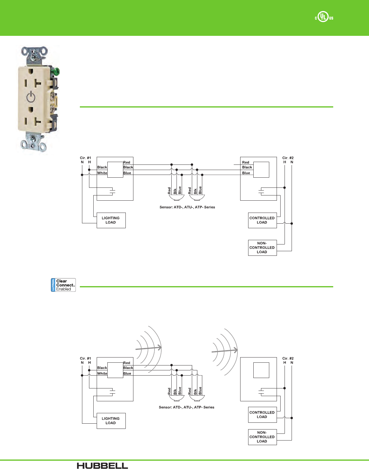 Hubbell Occupancy Sensor Wiring Diagram from usermanual.wiki