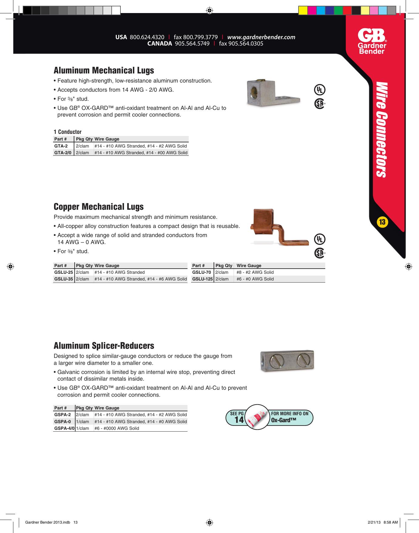 Tools & Home Improvement Electrical Gardner Bender AML-207 Stud Sz ...