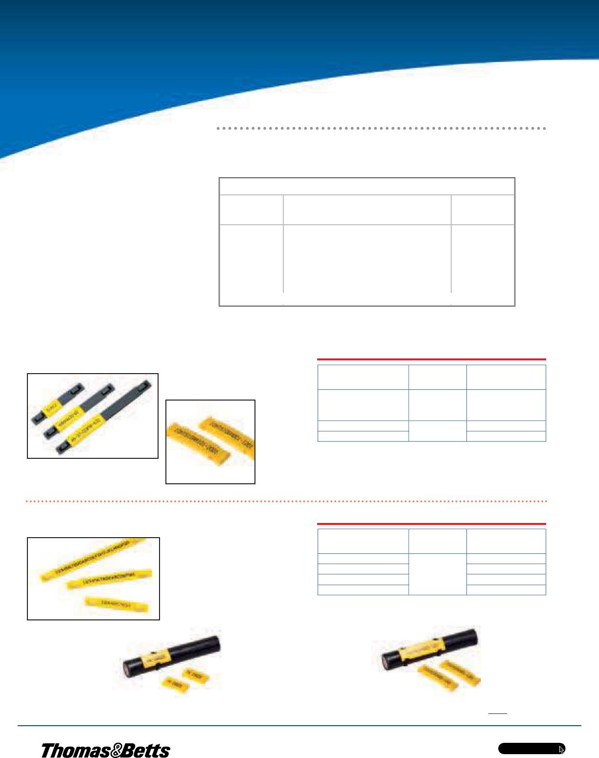 Thomas Betts E Z Code Identification Products 108217 Catalog Tnb 3 Phase Meter Fuse Box Tnbca