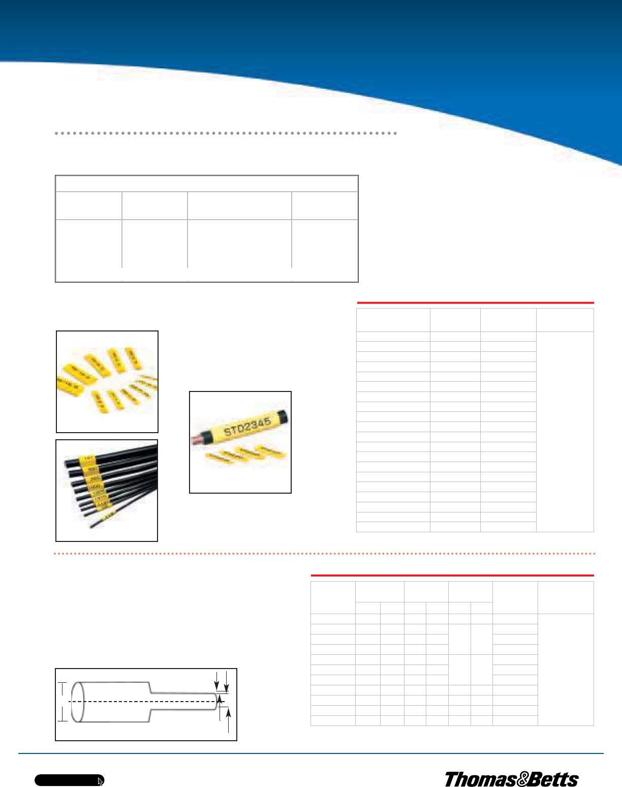 Thomas Betts E Z Code Identification Products 108217 Catalog Tnb 3 Phase Meter Fuse Box Tnbca E27
