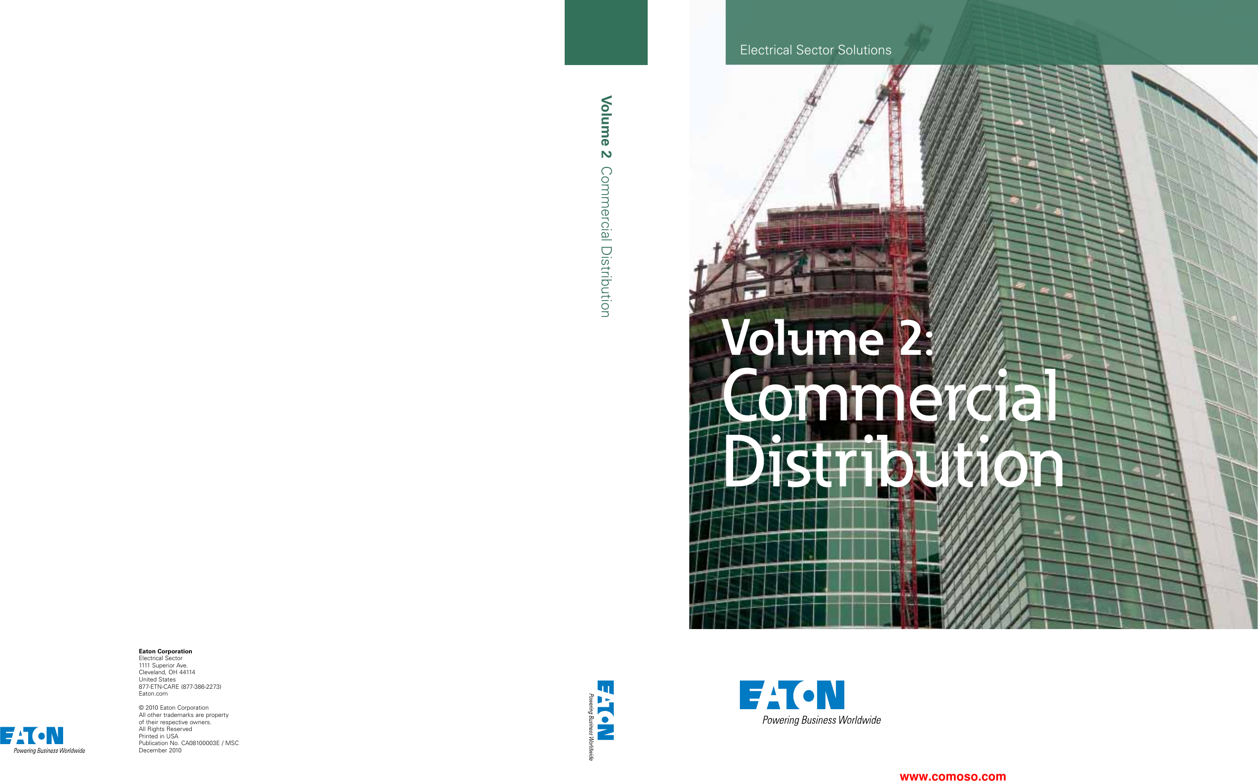 Volume 02—Commercial Distribution 108255 Catalog on