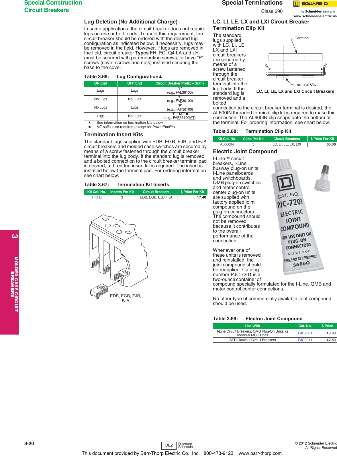 BRAND NEW QOXD363 SCHNEIDER ELECTRIC QOXD363