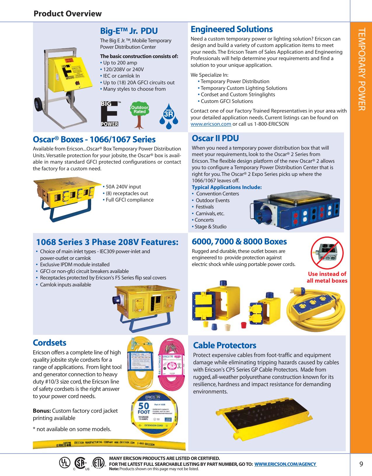 Pack of 10 AC Power Plugs /& Receptacles 15A//125VAC WIRNG DEV NEMA 5-15R BLK, Q-712
