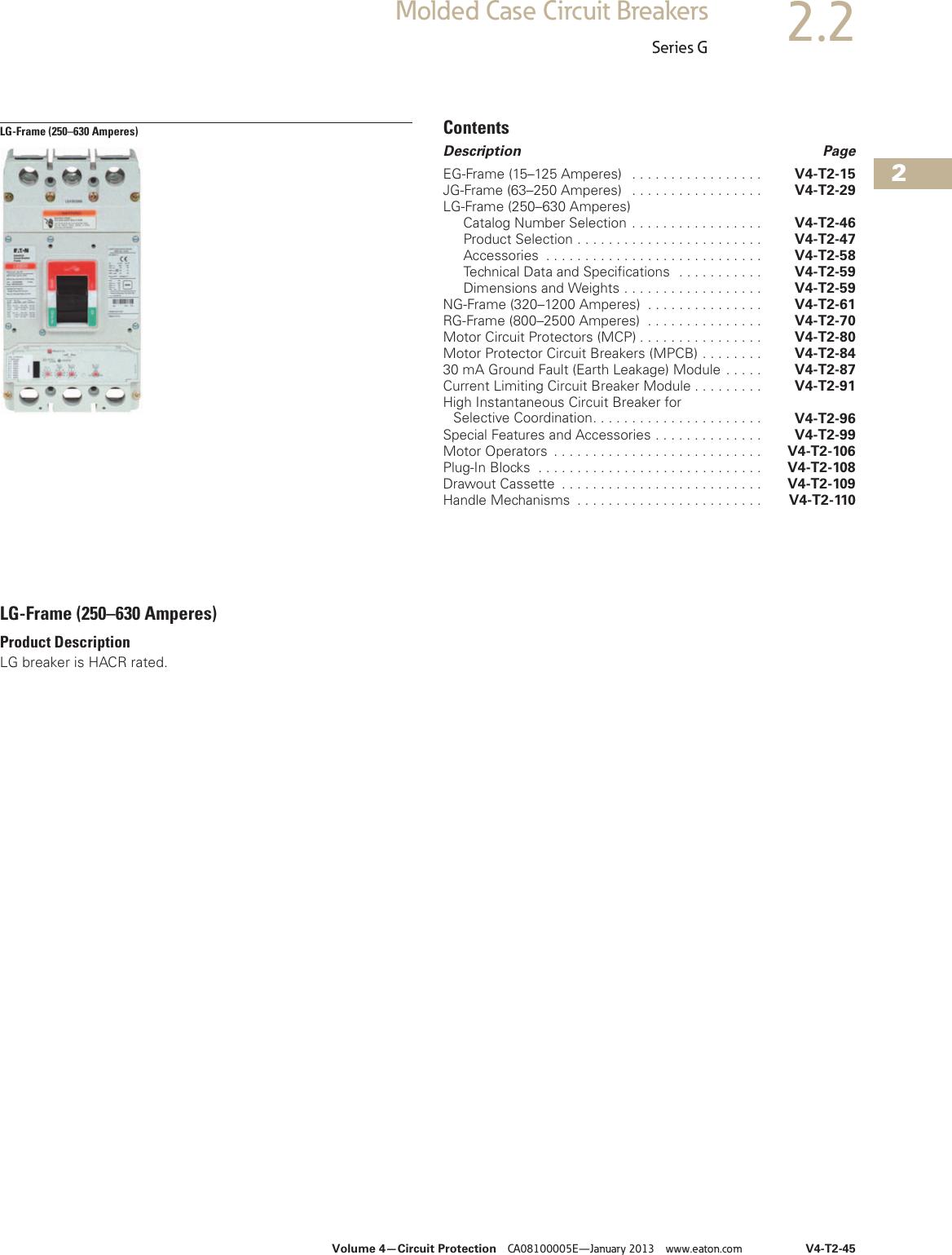 EATON CUTLER HAMMER HFD1045 1P 45 AMP 277 VOLT CIRCUIT BREAKER