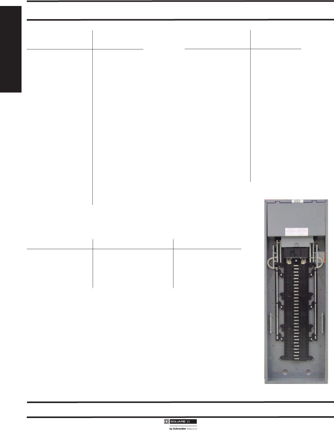 De1 P01 2 Toc 121233 Catalog Square D Qo Qwikgard 20 Amp Twopole Gfci Breakerqo220gficp The 12 Loadcentres And Circuit Breakers