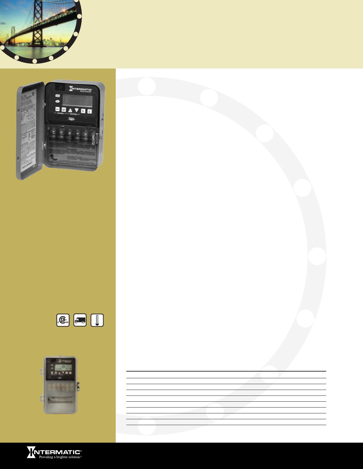Intermatic General Catalog 121623 Dual Time Clock Wiring Diagram Weatherproof Energy Controls Professional Lighting Pool Spa Surge Protection Consumer