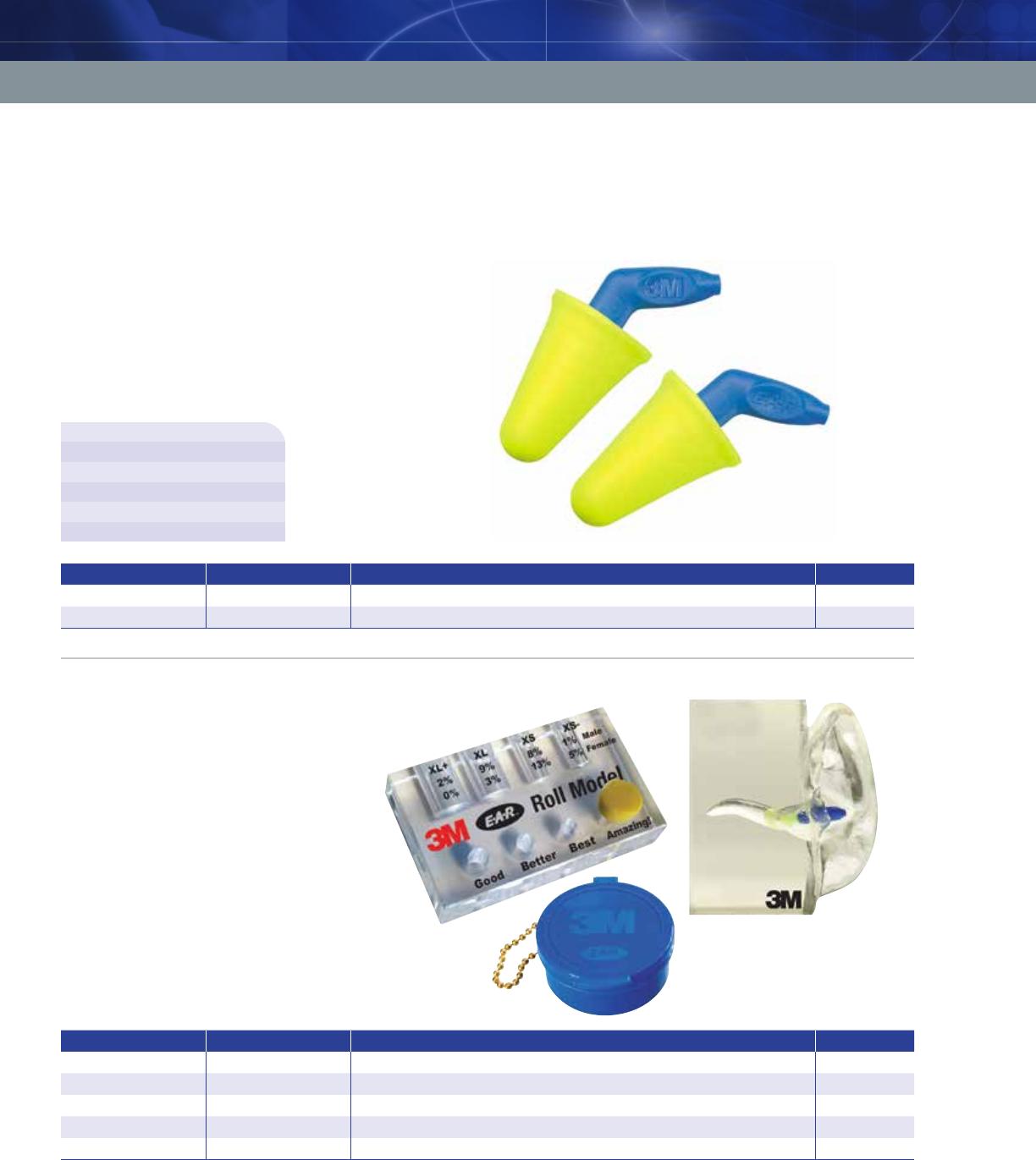 393-2010-50  10 Pair EA//Bag 3M™ 1100 Probed Test Plugs