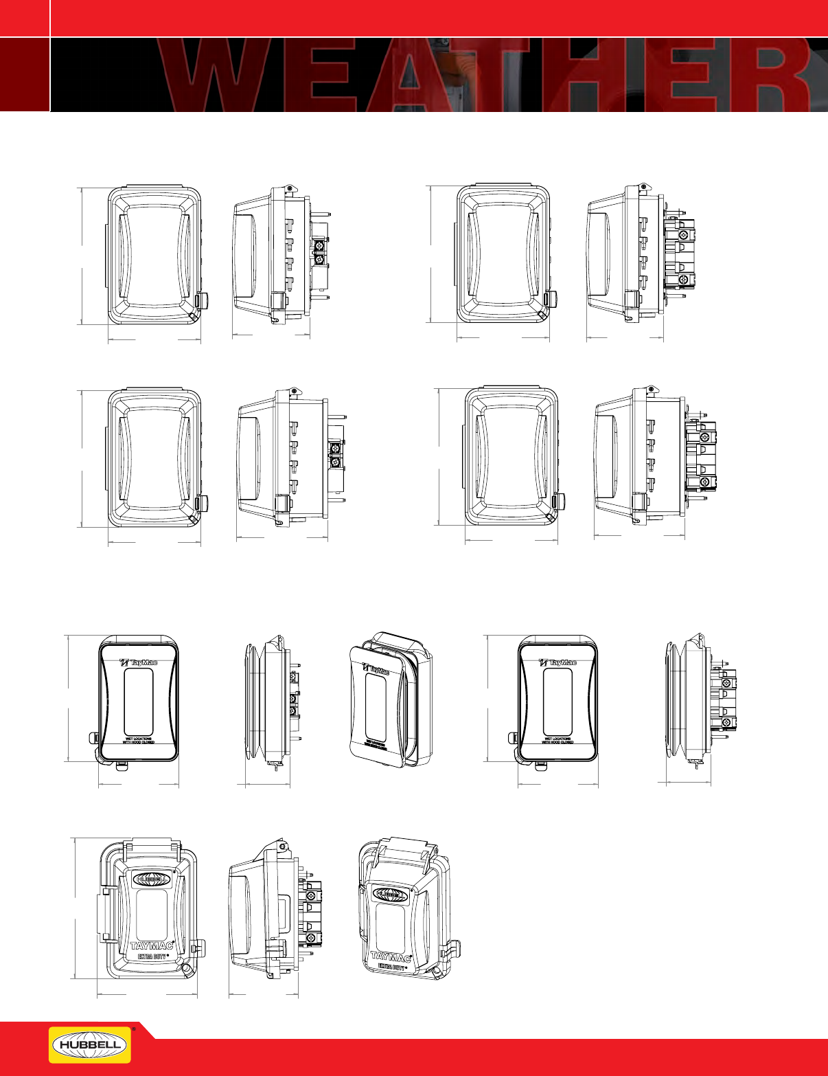 "TAYMAC RLB300 Rigid Lb Assembly,Stamped Steel,3/"""