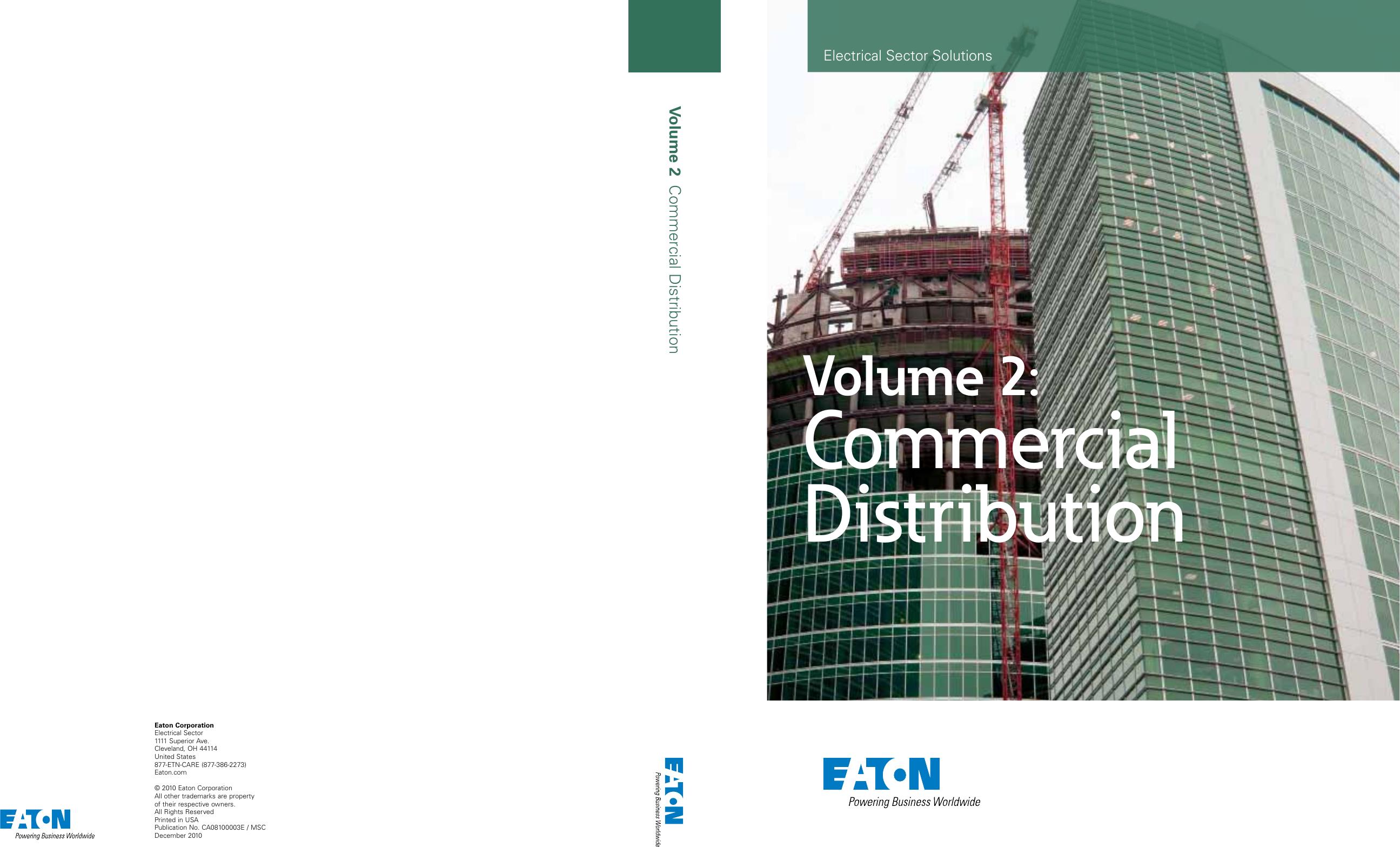 Cutler Hammer Transformer V48m28t22ee Wiring Diagram Schematic Volume 02 Commercial Distribution Eaton
