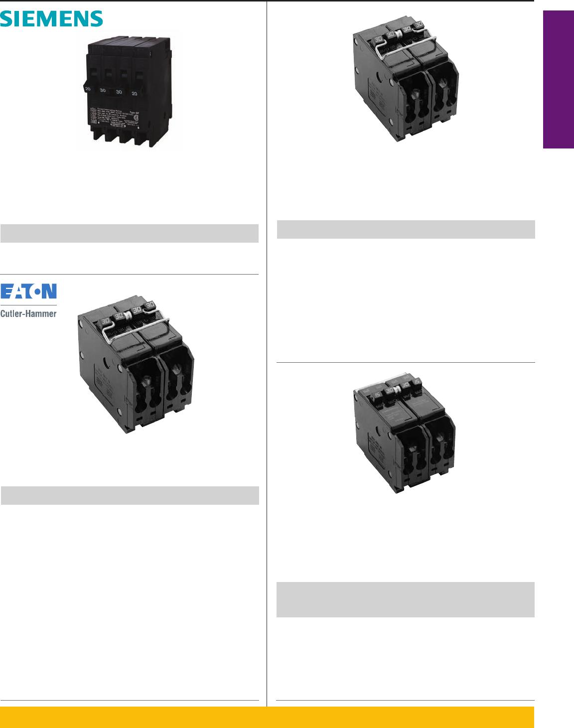 CUTLER-HAMMER CH110 10 AMP CIRCUIT BREAKER