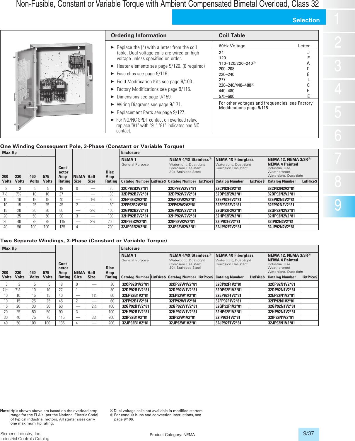 Siemens MTG0250I Industrial Power Transformer 380//400//415 Primary Volts 50//60Hz 110 X 220 Secondary Volts 250VA Rating International