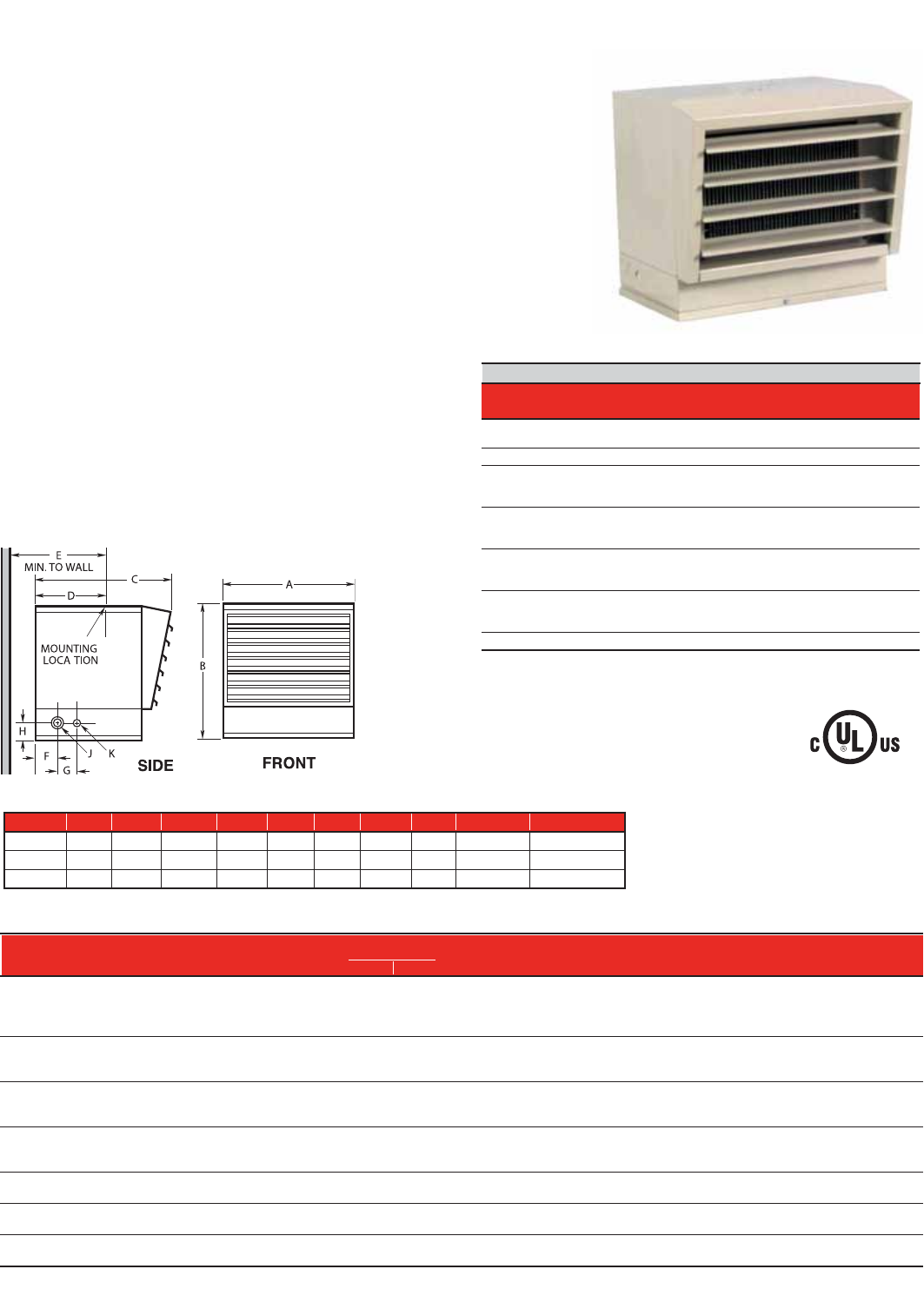 140809 Catalog 2 Qmark Heater Wiring Diagram 24 Heating Products Qmarkmepcom