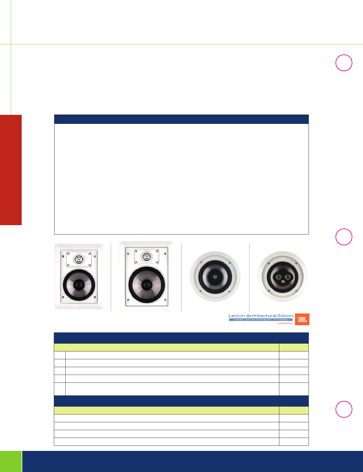142907 Catalog Image Of Home Command Center Structured Wiring Panel With 1x8 Coax And Entertainment In Wall Ceiling Speakers