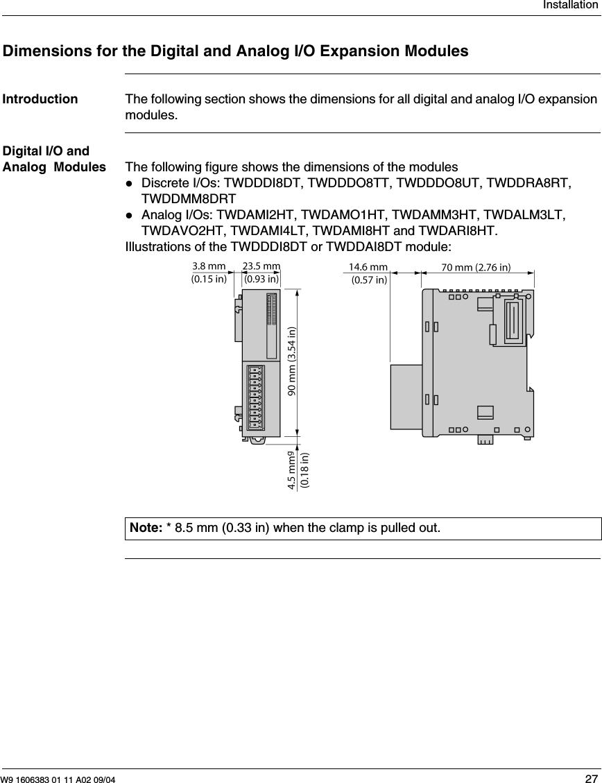 Pro-face EXM-DDI16DT Expanson Module EXPRESS SHIPPING 16 Digital Input PLC