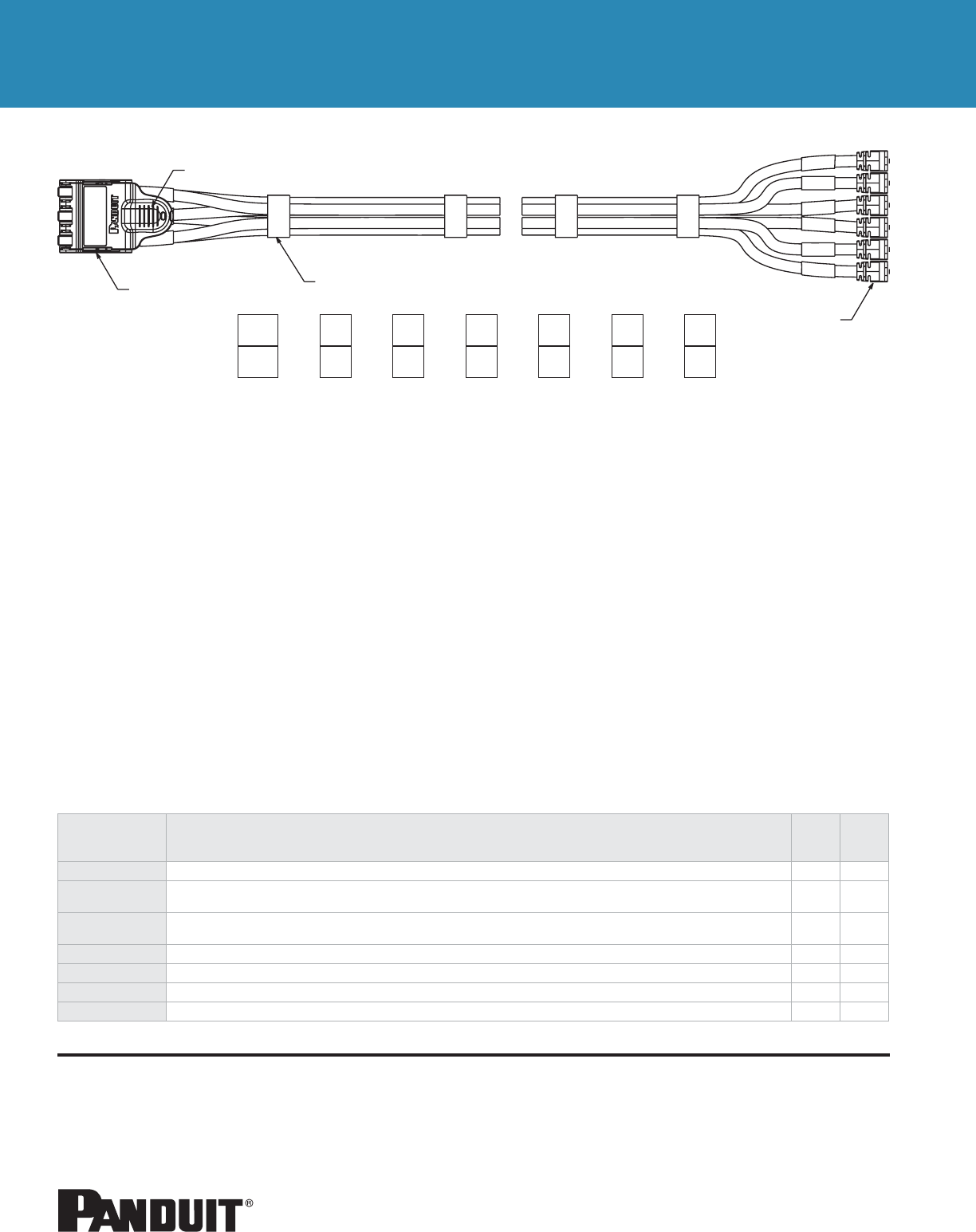 Ww Cocb17 Quicknet Plug Pack Assemblyqxp Panduit Rj45 Wiring Diagram A