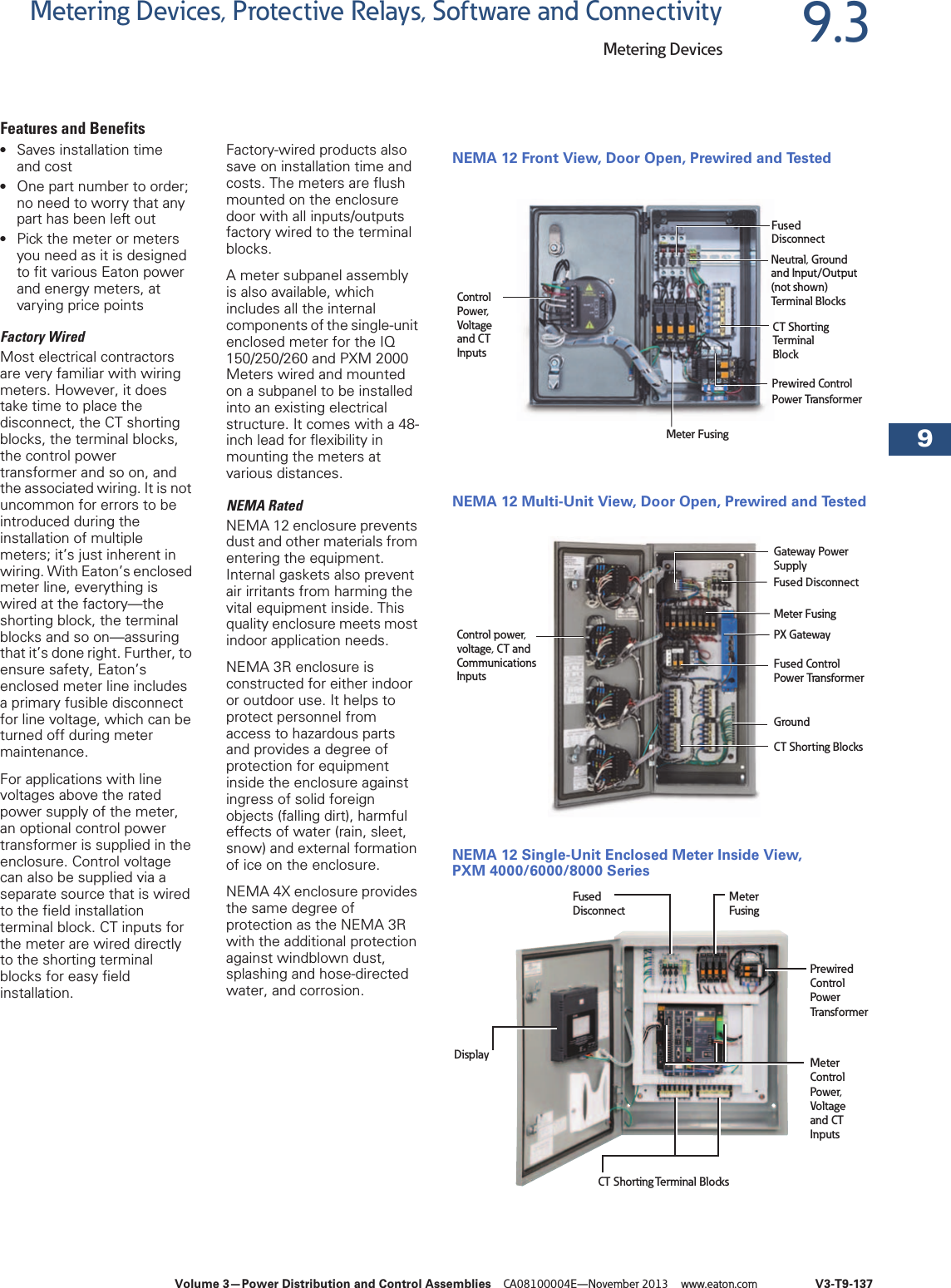 Volume 03—Power Distribution And Control Assemblies 150190 Catalog