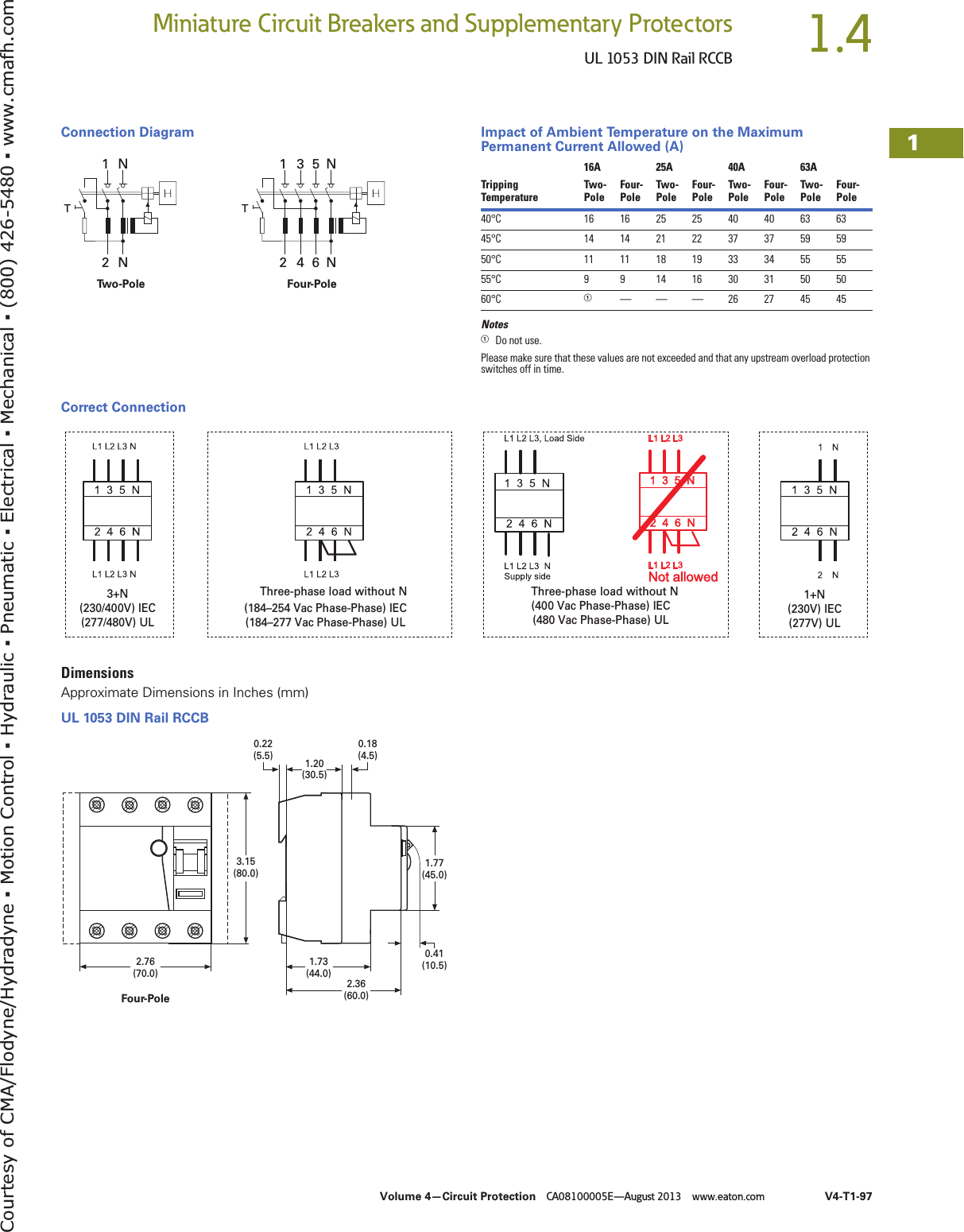 Eaton Rccb 152183 Catalog 1 Wiring Diagram Page 11 Of 12